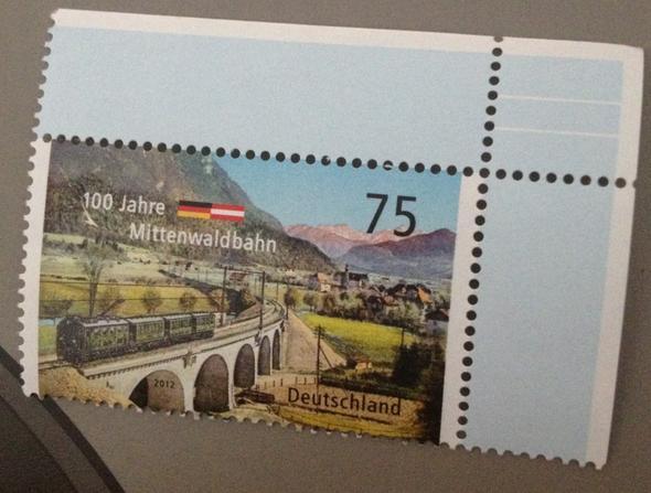 Briefmarke Sieht Anders Aus Als Sonst Hilfe Post Brief