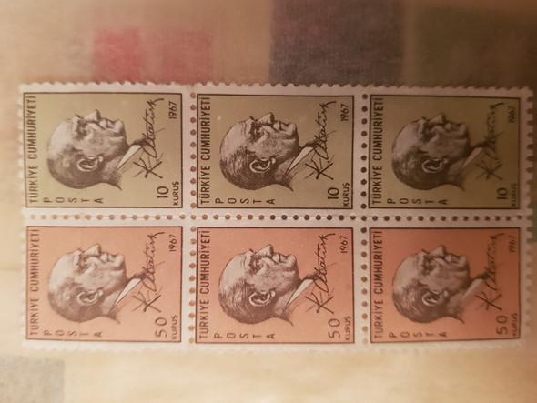 Briefmarke von Atatürk aus dem Jahre 1967, Wert?