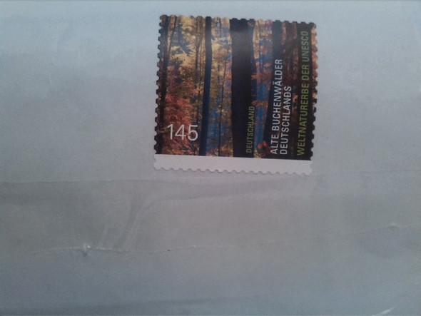 hier - (Post, Briefmarken, wiederverwenden)