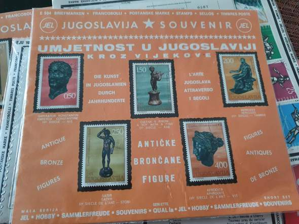 Briefmarken Jugoslawien/Deutsch Sammlersets?