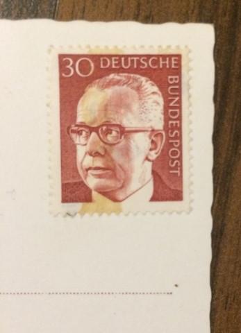 Briefmarkenpostkarten Wertvoll Postkarte Poststempel