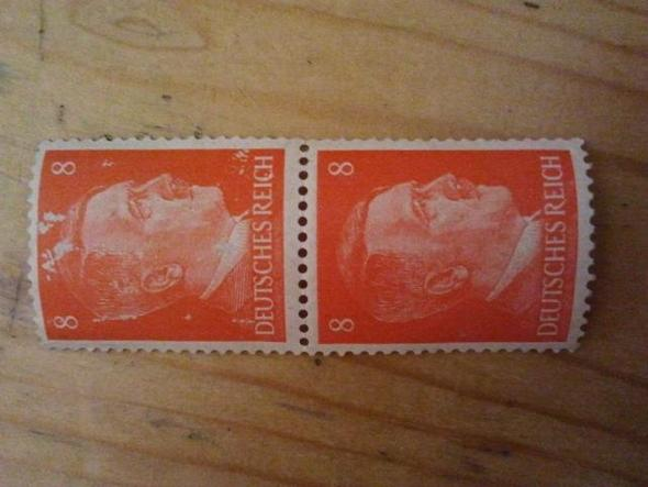 Zwei Briefmarken... - (Geschichte, Briefmarken)