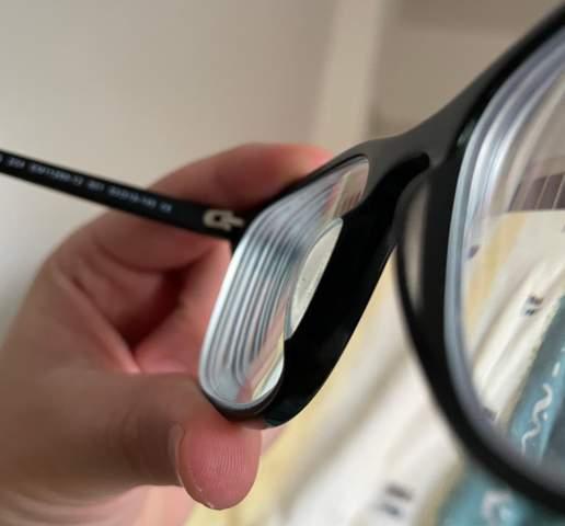 Brillengläser sehen dick aus?