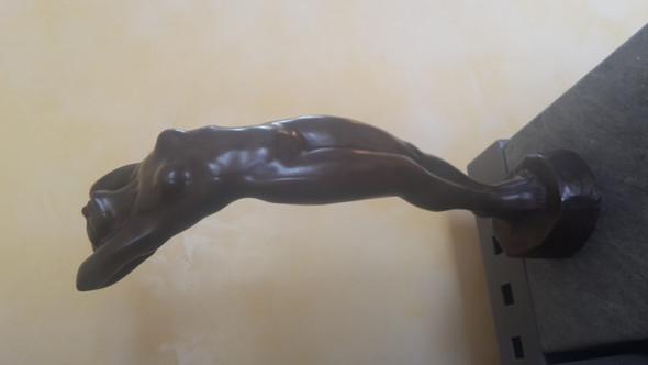 Bronze-unbekannter Künstler: erkennt jemand Künstler oder Alter?