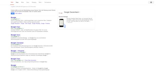 Google suche Schrift Komisch - (Youtube, Google, Browser)