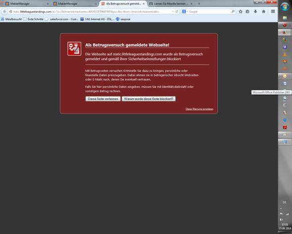 Firefox - (Computer, PC, Virus)