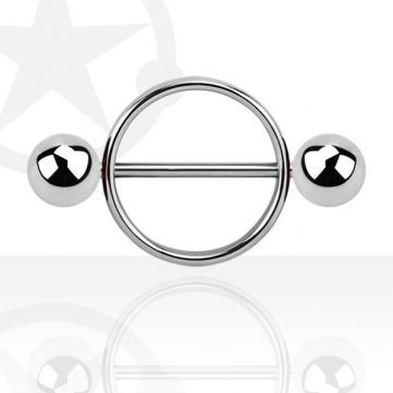 Ring - (Männer, Piercing, Brustwarzen)