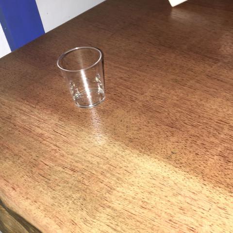 Von oben fotografiert  - (Holz, Tisch, Eiche)
