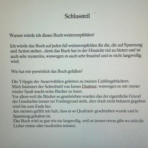 Nummer 7 - (Schule, deutsch, Buch)