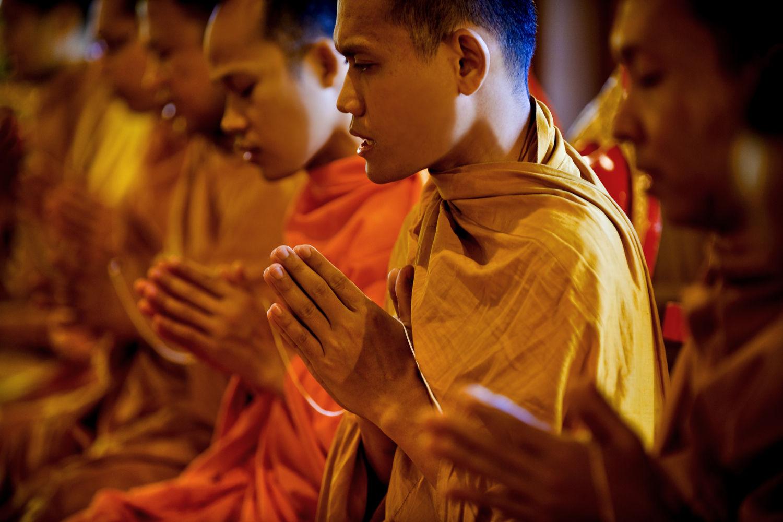 Wie Beten Buddhisten