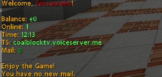 [Bukkit] 'You have no new Mail' login-message entfernen == Wie geht das?
