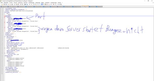 BungeeCord Config - (Minecraft-Server, BungeeCord, V-Server)