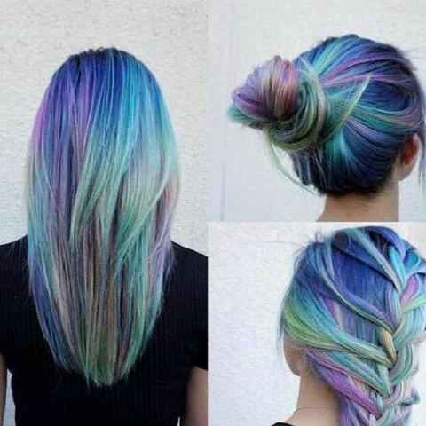So sollten die Haare werden   - (Beauty, bunte-haare, Haare  blondieren)