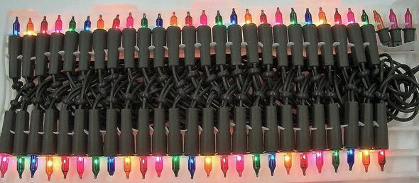 bunte lichterkette l mpchen zu hei weihnachten strom licht. Black Bedroom Furniture Sets. Home Design Ideas