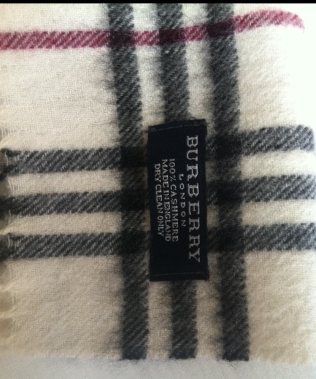 karierter schal burberry look karierter schal aus. Black Bedroom Furniture Sets. Home Design Ideas