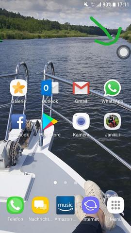Oben rechts  - (Handy, Technik, Smartphone)