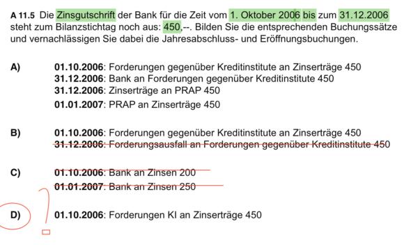 Bild - Rechnungsabgrenzung  - (BWL, Rechnungswesen, Buchführung)
