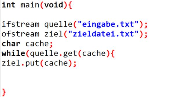 get - (programmieren, Programmierung, CPP)