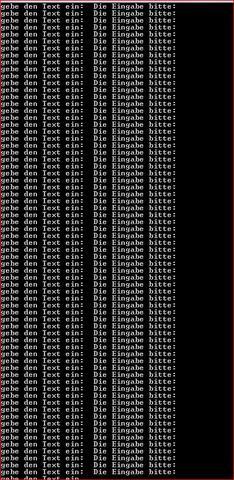 und so geht das dann weiter  - (Computer, programmieren, QuellCode)