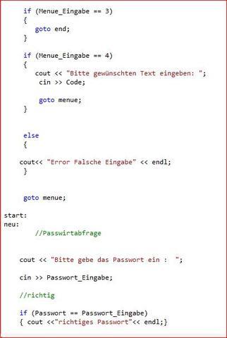 code 2 - (Computer, programmieren, QuellCode)