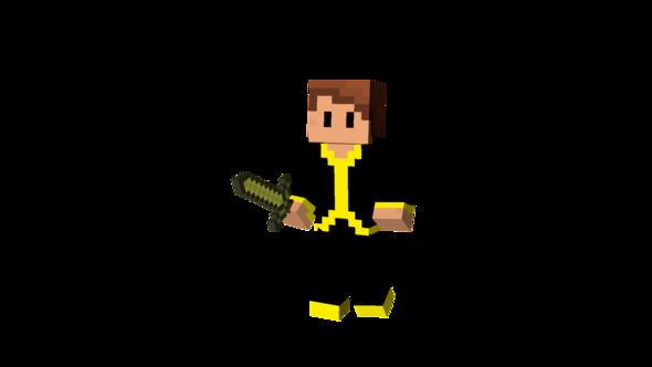 Unausgeglichene Belichtung - (Minecraft, Skin, 3-D)