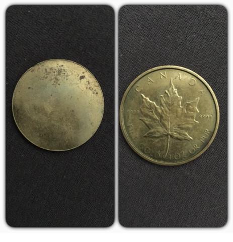 Canada fine gold 1 oz or pure 9999 - (Münze, Canada fine gold)