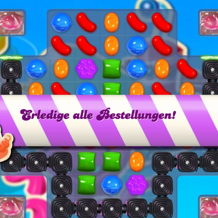 Candy Crush Bestellungen