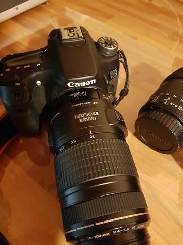 Canon Eos 70D - welches Objektiv beim Urlaub verwenden?
