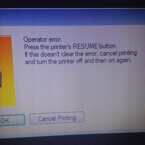 Canon Pixma Ip 4200 Will Nicht Drucken Computer Technik