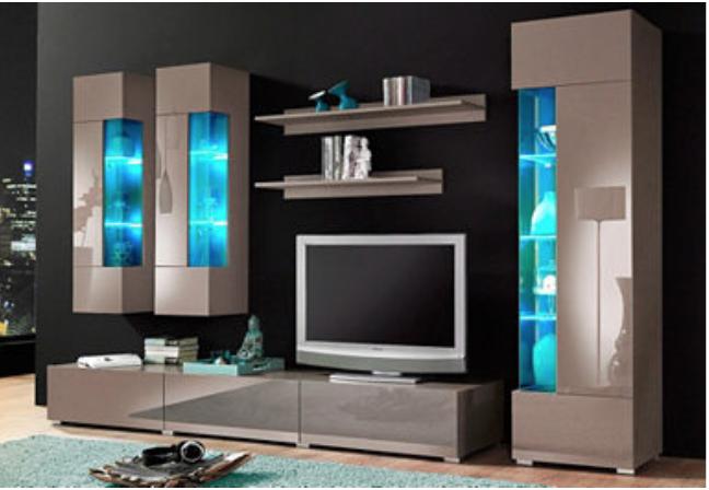 cappuccino wohnwand welche couch und couchtisch passen wohnung wohnen wohnzimmer. Black Bedroom Furniture Sets. Home Design Ideas