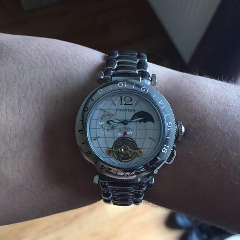 Uhr 3 - (Uhr, echt, Replica)