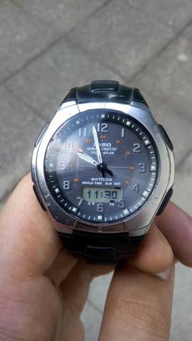 Uhr hängt etwa 90 Minuten hinterher - (Armbanduhr, Casio, funkuhr)