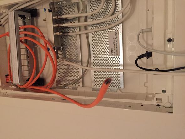 cat7 kabel verbinden mit modem bzw router computer. Black Bedroom Furniture Sets. Home Design Ideas