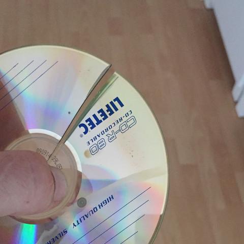Die CD - (CD, gebrochen.., Rettbar)