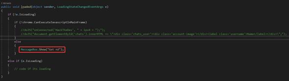 CEFsharp - Javascript ausführen?