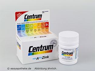 Centrum von A bis Zink - (Tabletten, gelatine, pflanzlich)