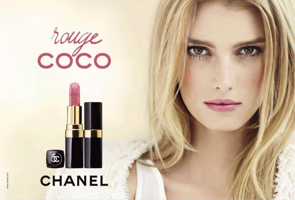 chanel lippenstift welchen tr gt sie in der werbung beauty make up. Black Bedroom Furniture Sets. Home Design Ideas