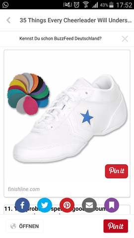 Cheer Schuh - (Sport, Schuhe, Marke)