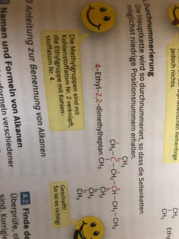 Chemie Alkane?