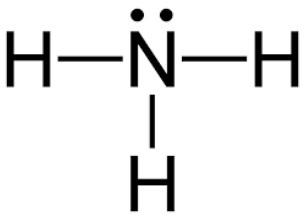 chemie nh3 ammoniak strukturformel schule dipol. Black Bedroom Furniture Sets. Home Design Ideas