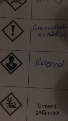 Hier :) - (Chemie, Piktogramm)