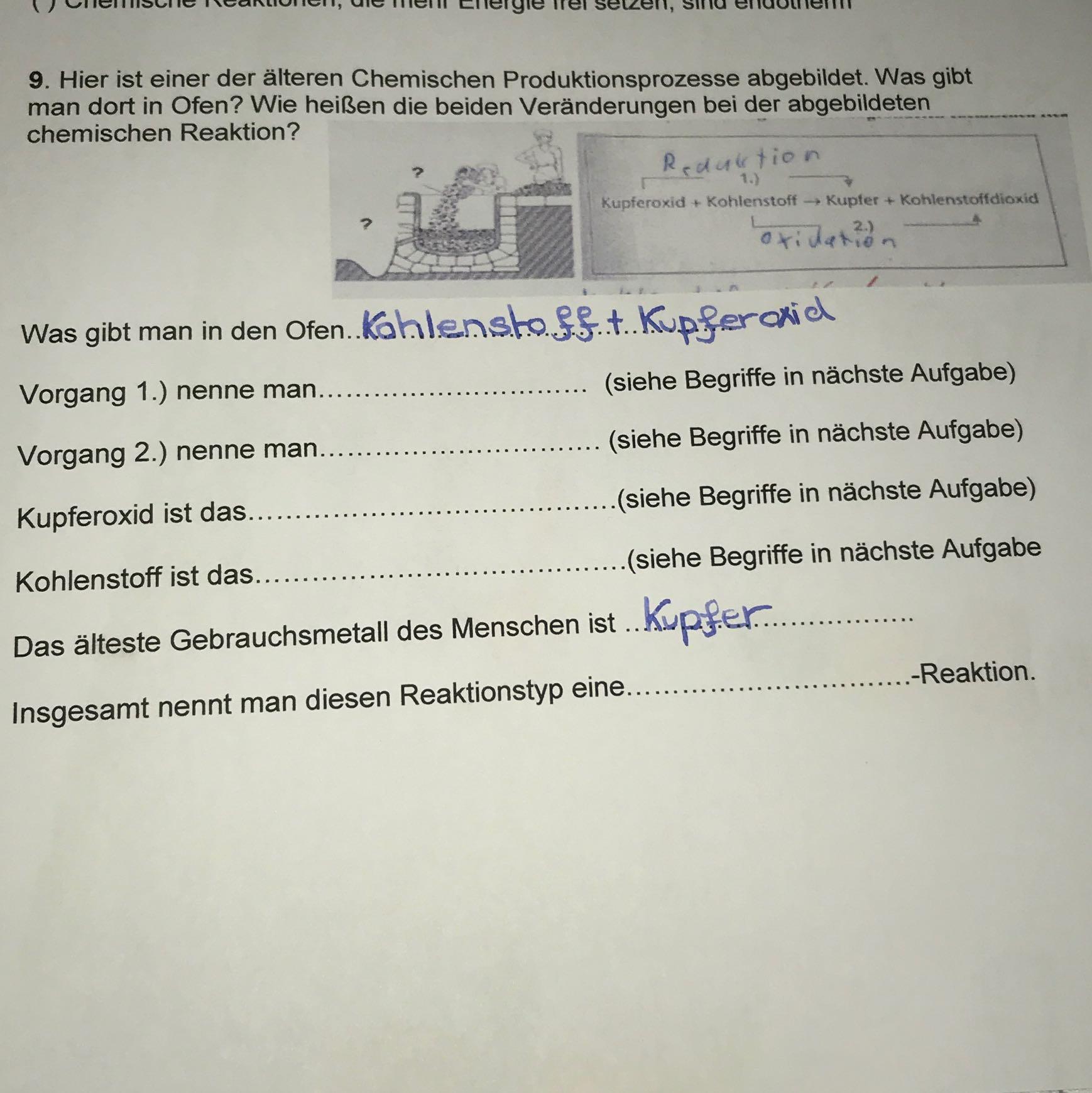 Großzügig Chemie Wortgleichungen Arbeitsblatt Antworten Galerie ...