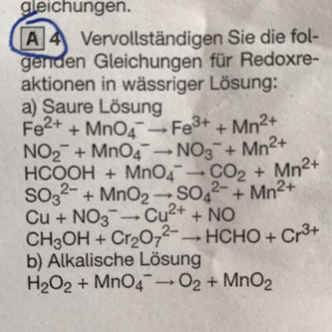 Aufgabe - (Schule, Chemie, Unterricht)
