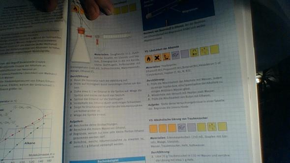 Aufgabe - (Chemie, Alkohol)