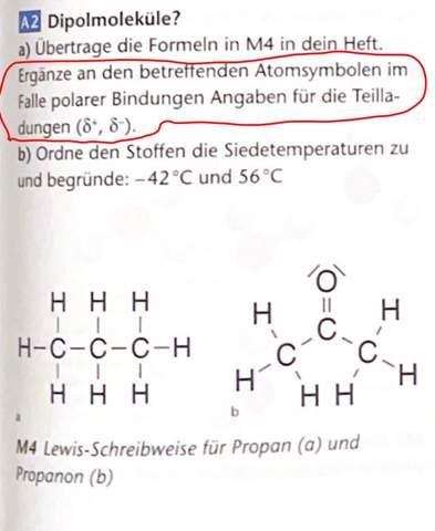 Chemie?Polare Bindungen?Teilladungen?