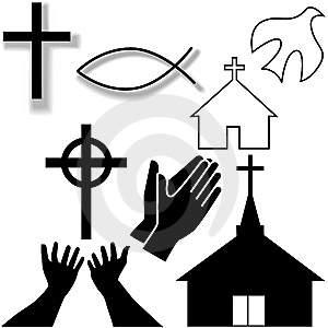 Christliche Symbole (Religion, Christentum, Symbol)