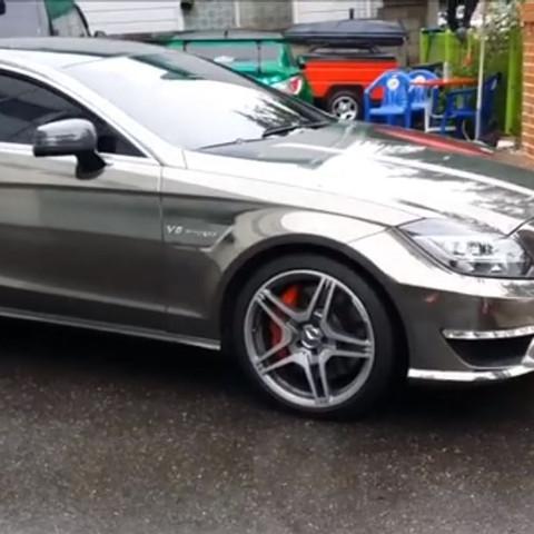 Mercedes benz - (Chrome, Folierung)