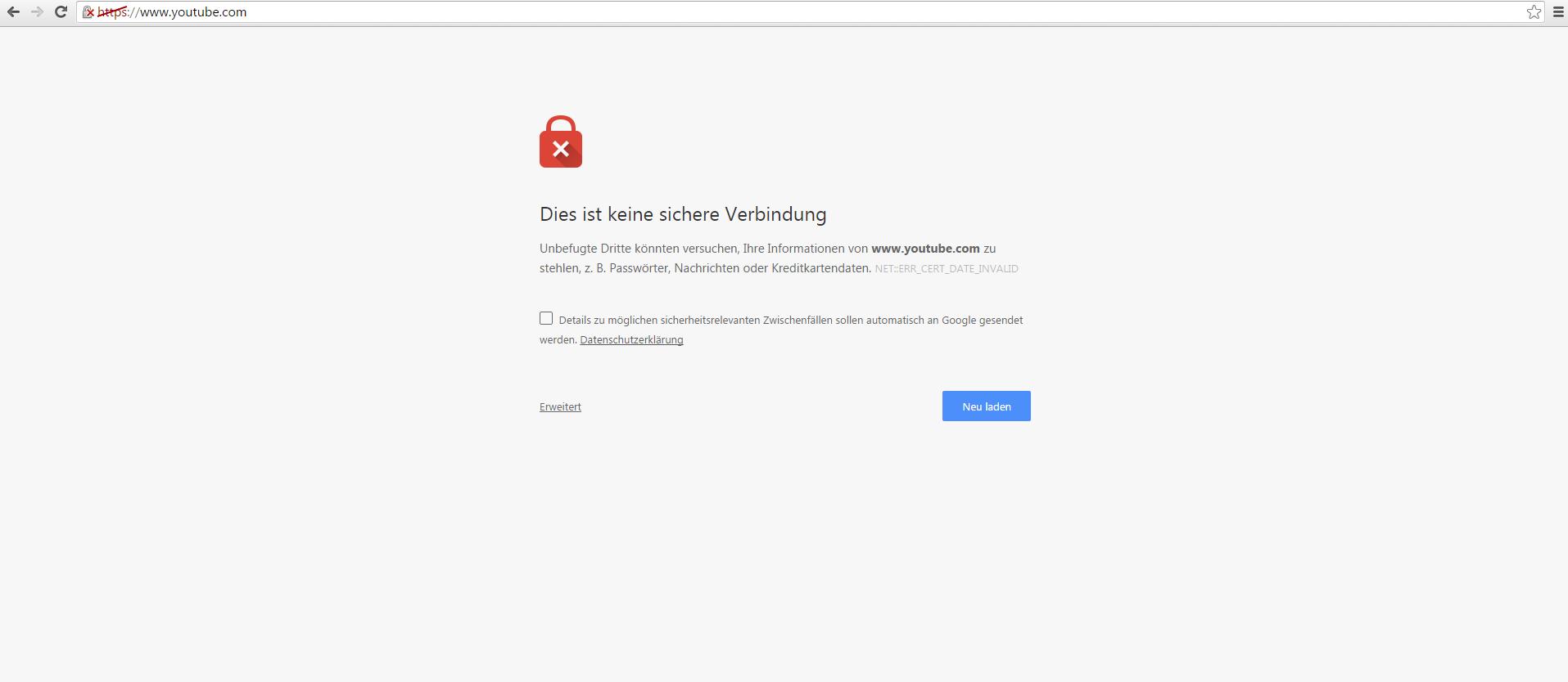 Youtube Hängt Chrome