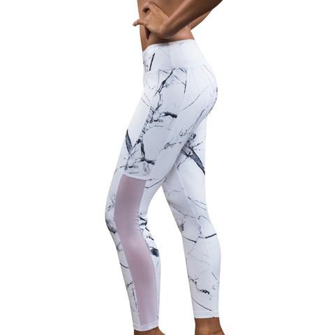 Marble Leggings - (Sport, Mode, Fitness)