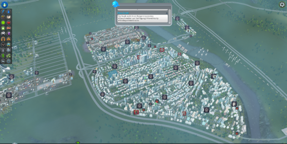 meine stadt - (Spiele, Steam,  Cities Skylines)